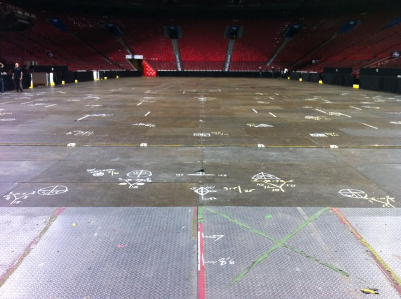 chalked-floor